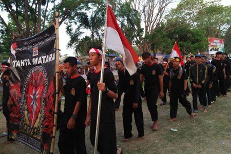 Saudara Tahta Mataram Ikut Serta Pawai HUT ke-73 RI di Karanganyar
