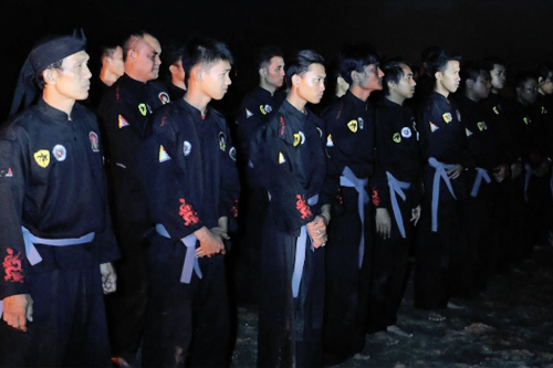 Latihan Khusus Sabuk Hitam Muda Sekaligus Membangun Kedekatan Pengurus Tahta Mataram